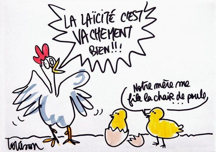 Louison-Laïcité-Poule