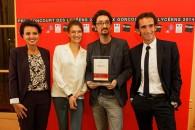 Remise du prix Goncourt des lycéens à David Foenkinos