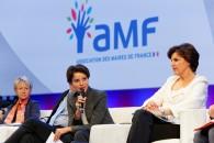 Congrès des Maires de France : Najat Vallaud-Belkacem à la rencontre des élus
