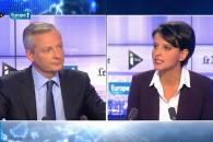 Débat entre Najat Vallaud-Belkacem et Bruno Le Maire sur la réforme du Collège