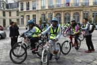 Le Paris-Bruxelles du Collège Politzer de La Courneuve (93), très beau projet citoyen & sportif