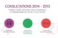 Saisine du Conseil supérieur des programmes  afin de tenir compte des remontées de terrain issues de la consultation sur les programmes