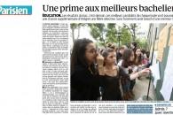 """Le dispositif """"Meilleurs bacheliers"""" présenté par Le Parisien"""