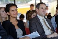 Najat Vallaud-Belkacem et Thierry Mandon annoncent le gel du montant des droits d'inscription