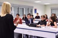 Avec le Premier ministre au Collège Jean-Gay de Verfeil, pionnier des Enseignements Pratiques Interdisciplinaires