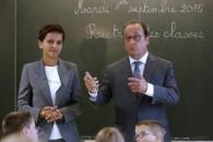 #Rentrée2015 avec le président de la République à l'école de Pouilly-sur-Serre, Aisne