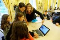 Lancement avec Axelle Lemaire de la Semaine européenne du Code au ministère de l'Éducation nationale