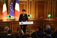 Discours en hommage aux victimes des attentats du 13 novembre à la Sorbonne