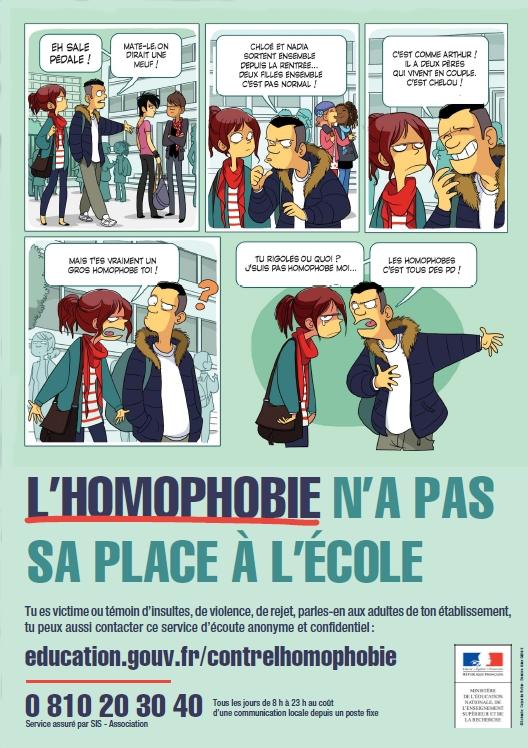 lutte contre l homophobie une campagne pour pr venir les violences et les discriminations et. Black Bedroom Furniture Sets. Home Design Ideas