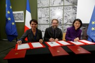 Signature de la convention sur l'éducation aux médias et à l'information