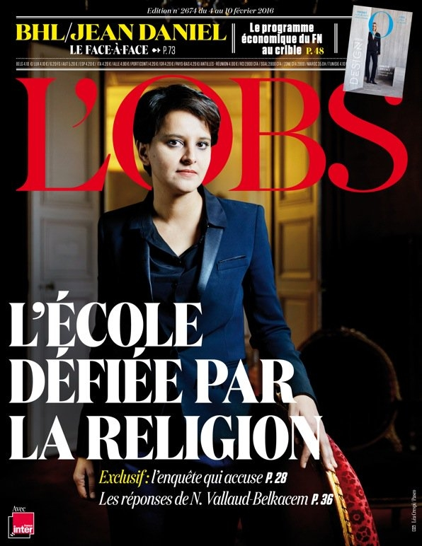 20160204-Une-Obs-Najat-Vallaud-Belkacem-religion