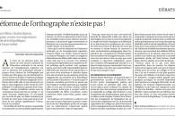 Débat sur l'École : halte aux (im)postures ! – Tribune publiée dans Le Monde