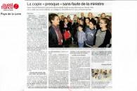 « L'idée, c'est la réussite pour tous les élèves » – Reportage Ouest France Pays de Loire