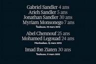 Honorer la mémoire des victimes du terrorisme