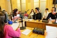 Entretien radio avec les élèves de la Cité scolaire de Sillé-le-Guillaume