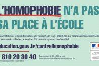 Journée internationale de lutte contre l'homophobie et la transphobie : le ministère mobilisé contre les violences et les discriminations