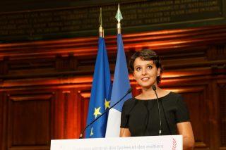 Remise, en présence de la ministre Najat VALLAUD-BELKACEM, des prix du Concours général des lycées et des métiers 2016, en Sorbonne, le jeudi 7 juillet 2016 - © Philippe DEVERNAY