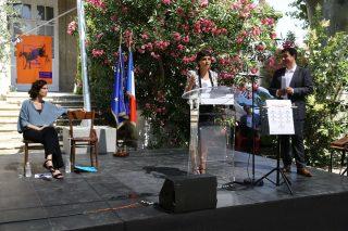 20160708-NajatVB-Avignon-Discours-Education-Artistique-Ethis-Azoulay
