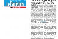 L'Aide financière à la recherche du premier emploi (ARPE) vue par Le Parisien