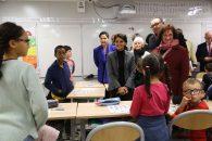 La ministre de retour à Marseille pour suivre l'avancée du plan de rénovation des écoles