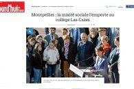 La mixité sociale l'emporte au collège Las-Cazes – Reportage Aujourd'hui en France
