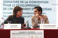 Discours sur le développement de l'enseignement contribuant à la transmission des langues régionales