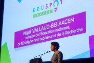 Ouverture du salon EduSpot – Discours sur le numérique éducatif