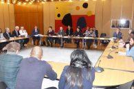 Violences commises à Saint-Denis : Najat Vallaud-Belkacem a réuni sur place tous les acteurs concernés