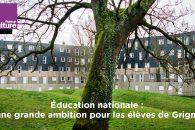 Éducation prioritaire : j'ai souhaité rétablir une véritable égalité des chances éducatives pour les enfants de Grigny