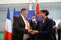 Remise de la Légion d'Honneur à Hervé Pizzinat, proviseur du lycée Tocqueville de Grasse