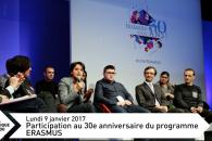 Des 30 ans d'ERASMUS aux tablettes numériques – Chronique Hebdo N°105