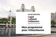 Mon programme pour Villeurbanne