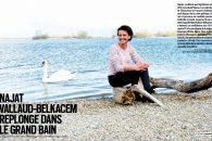Najat Vallaud-Belkacem replonge dans le grand bain – Reportage Paris-Match